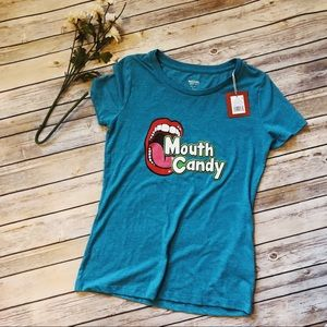Mossimo Supply Co. Tops - 🎊5 for 25🎊Mossimo Mouth Candy top